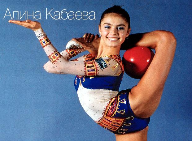кабаева гимнастка фото